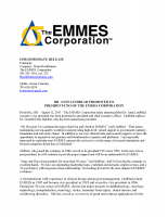 Anne Lindblad Promoted to President/CEO of The EMMES Corporation