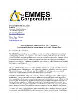 EMMES Wins IDIQ Contract
