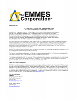 EMMES to Coordinate NCI Anal Cancer Prevention Study