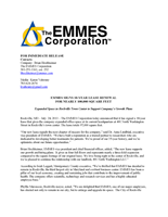 EMMES Renews Lease