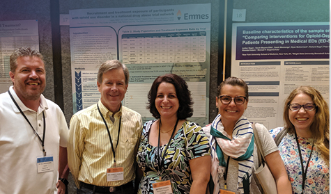 Emmes thought leaders frequently contribute to professional panel discussions and poster sessions at clinical conferences
